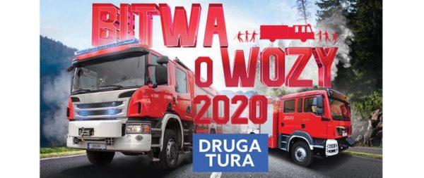 Bitwa o wozy plakat 2020