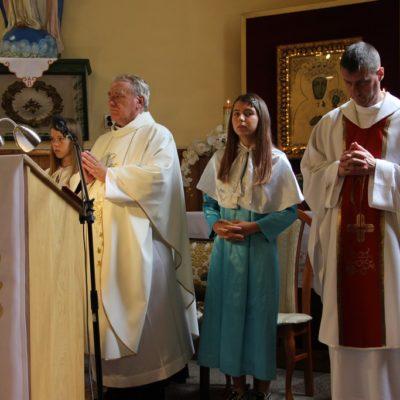 Msza pożegnalna w miłoradzickiej parafii