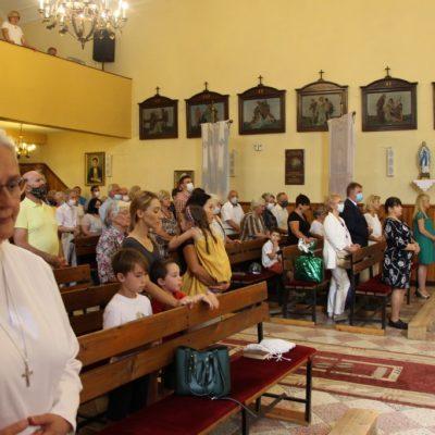 Eucharystia w Miłoradzicach