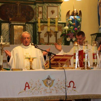 Proboszcz sprawujący Eucharystię