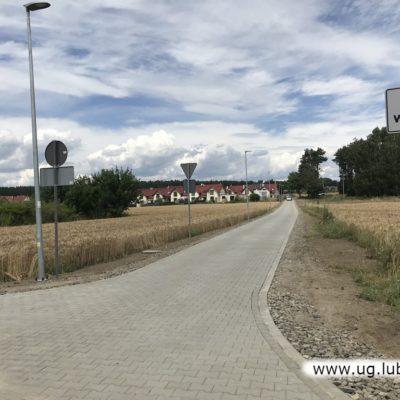 Nowa droga w miejscowości Gola