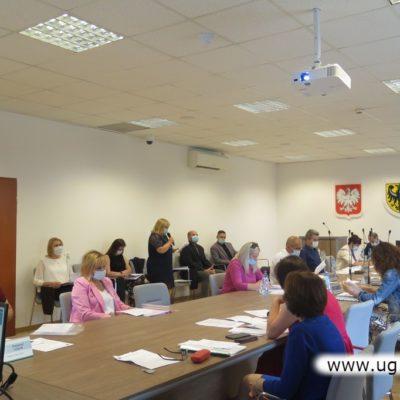 Zebranie radnych Gminy Lubin
