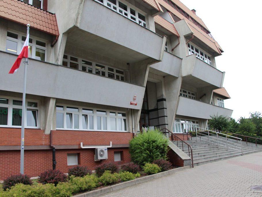 Budynek sądu w Lubinie