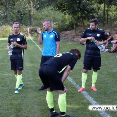 Drużyna piłkarska Unia Miłoradzice w grze