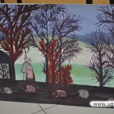 Prace artystek z Gminy Lubin