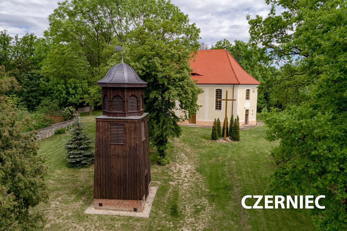 Widok na wioskę Czerniec