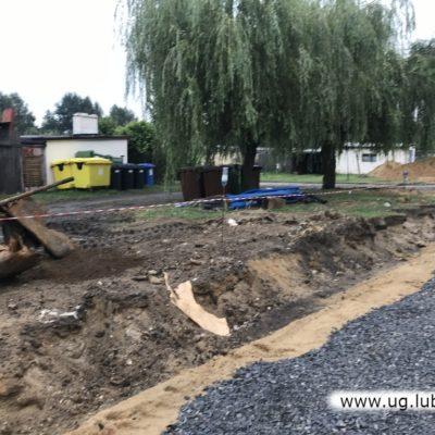 Przebudowa drogi i miesjc parkingowych w Szklarach Górnych