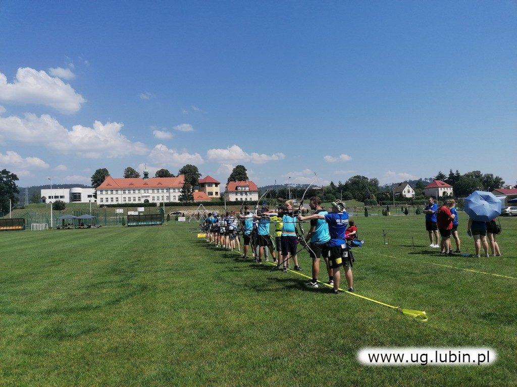 Łucznicy na Ogólnopolskim Turnieju Łuczniczym o Puchar gór Stołowych Dzieci i Młodzików