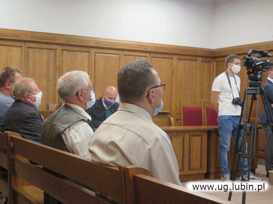 Rozprawa sądowa o tarasowanie torowiska w Raszówce