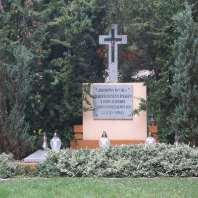Zbiorowa mogiła zmarłych żołnierzy polskich II wojny światowej z kampanii wrześniowej