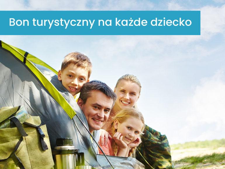 Bon Turystyczny na każde dziecko