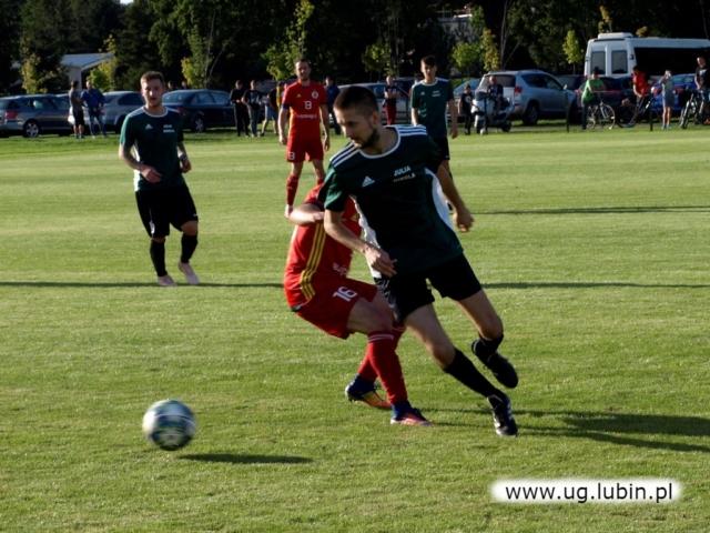 Piłkarze na boisku
