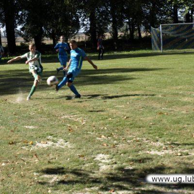 Piłkarz Platan Siedlce w grze