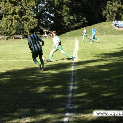 Zawzięta rywalizacja drużyn na boisku