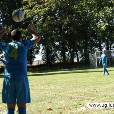 Piłkarze podczas meczu