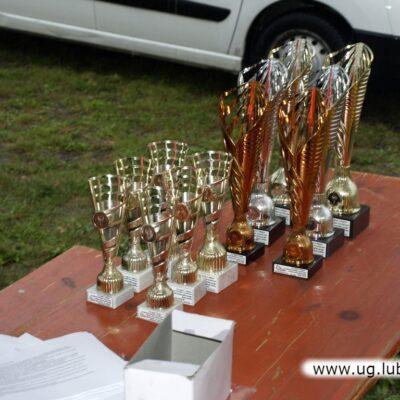 Organizatorzy przygotowali dla uczestników wiele pamiątkowych pucharów.