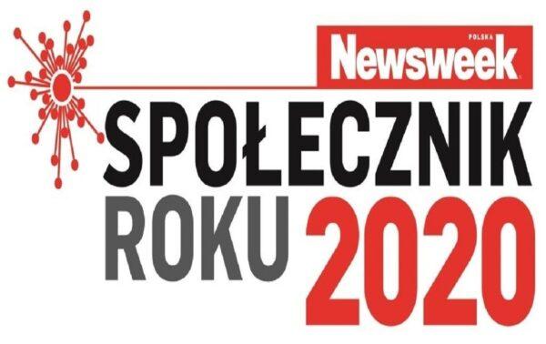 Plakat Społecznik roku 2020