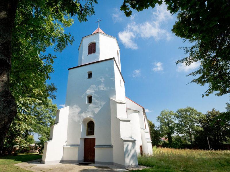 Kościół filialny w Oborze