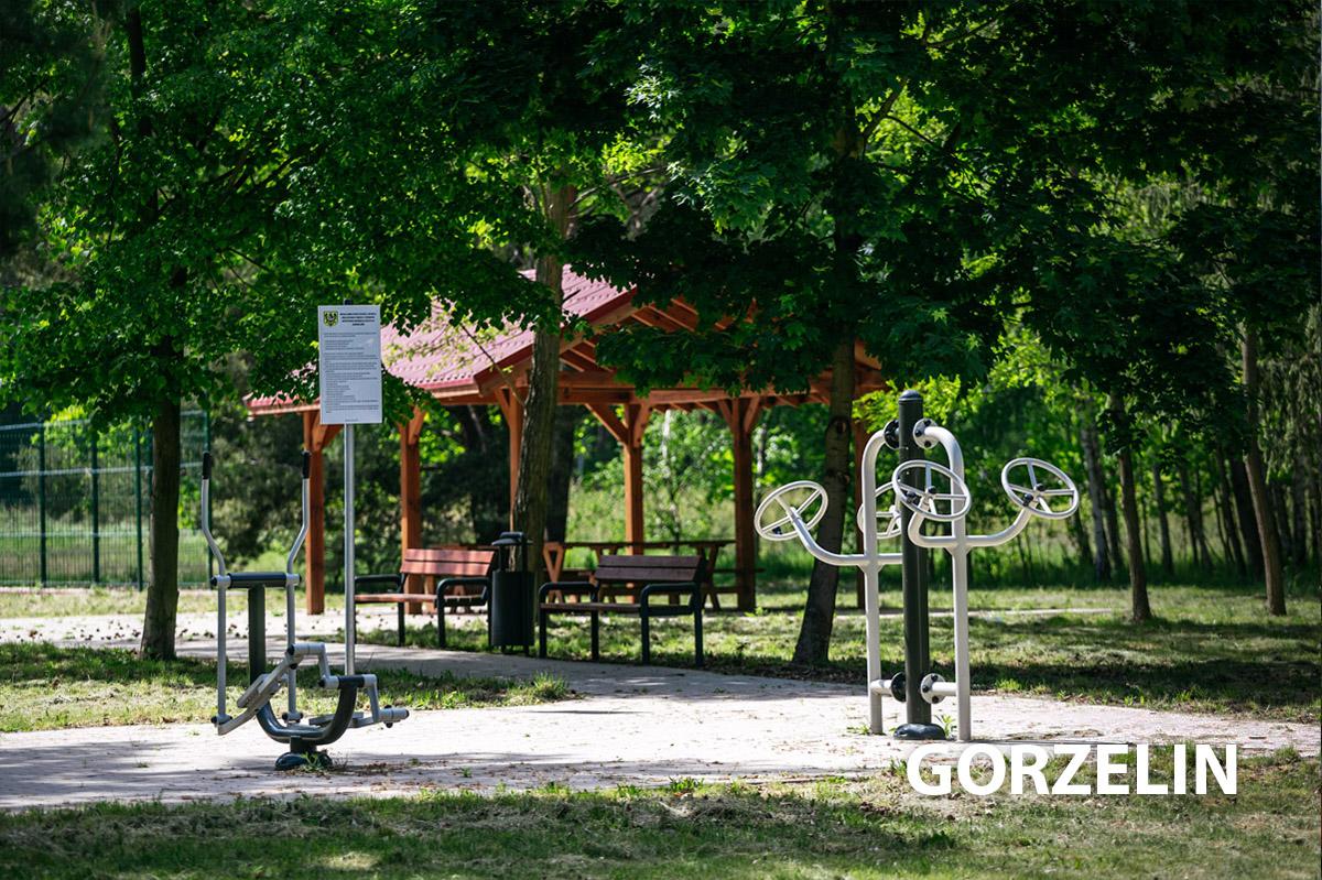 Place zabaw i aktywności w Gorzelinie