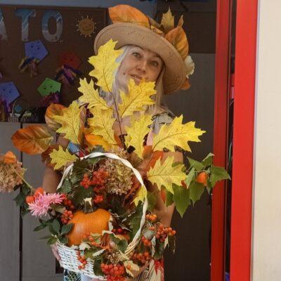 Pani jesień zawitała w progu