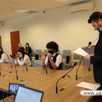 Posiedzenie Rady młodzieżowej gminy Lubin