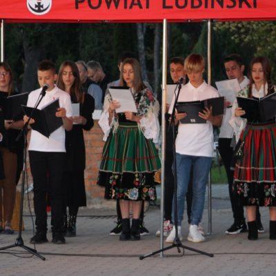 uczniowie ze Szkoły Podstawowej nr 1 w Lubinie