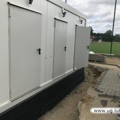 Budowa obiektów szatniowo – sanitarnych w Kłoptowie