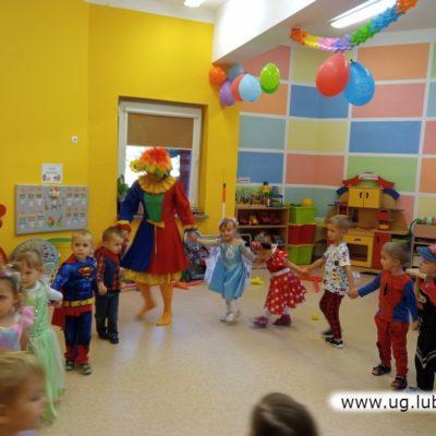 Animacje w przedszkolu w oddziale zamiejscowym w Lubinie