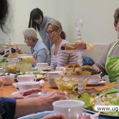 Wspólnie zjedzenie przygotowanych potraw