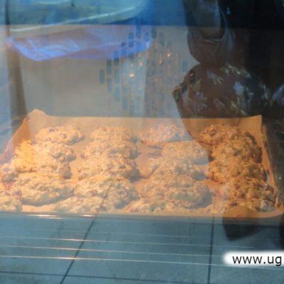 Ciastka w piekarniku