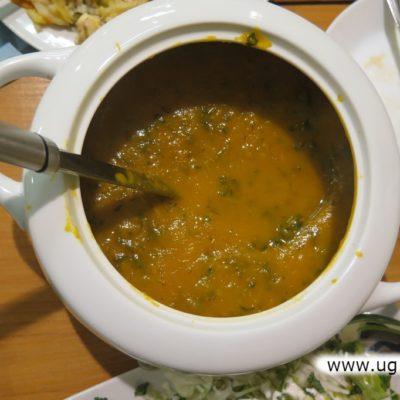 Zupa przygotowana na warsztatach