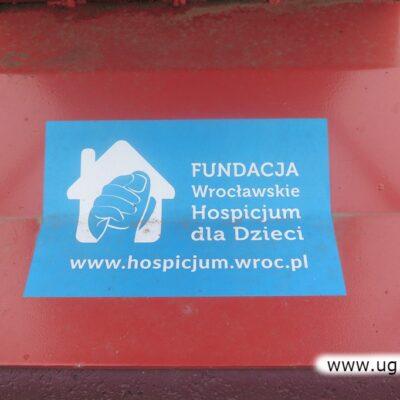 Nakrętki trafiają do Fundacji Wrocławskie Hospicjum dla Dzieci