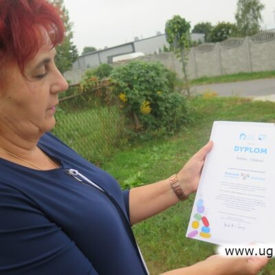 Składowice otrzymały dyplom uznania od wrocławskiej fundacji pomagającej dzieciom.