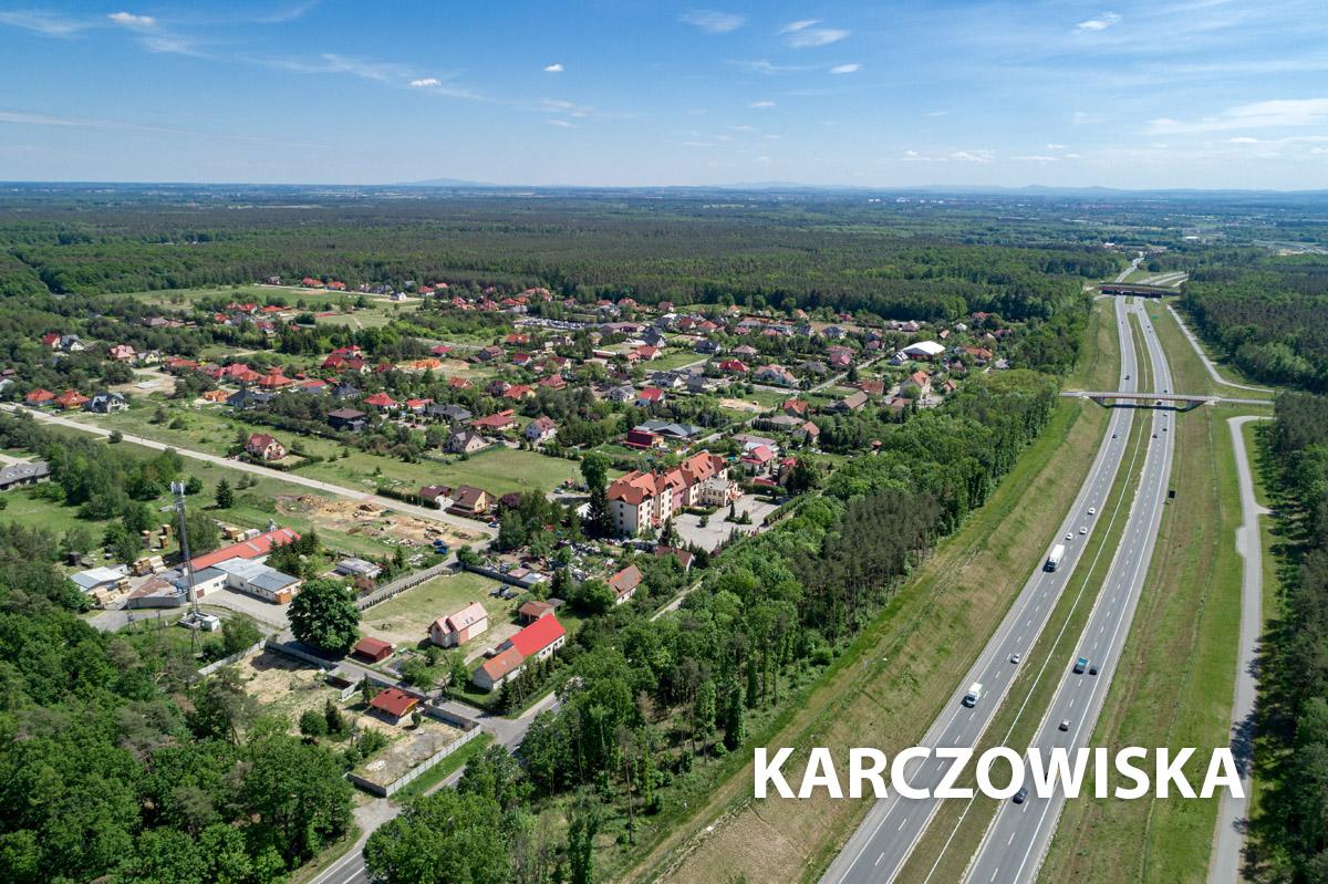 Wioska Karczowiska i droga ekspresowa S3