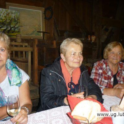 Degustacja win przez seniorów