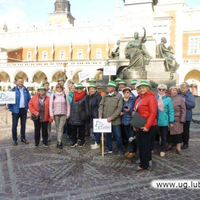 Lubińscy seniorzy w Krakowie