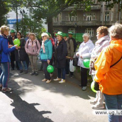 Międzynarodowe Senioralia na ulicach Krakowa