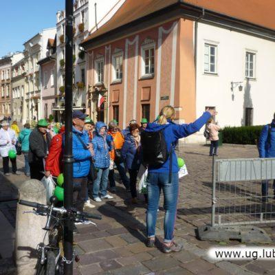 Lubińscy seniorzy przy Wawelu