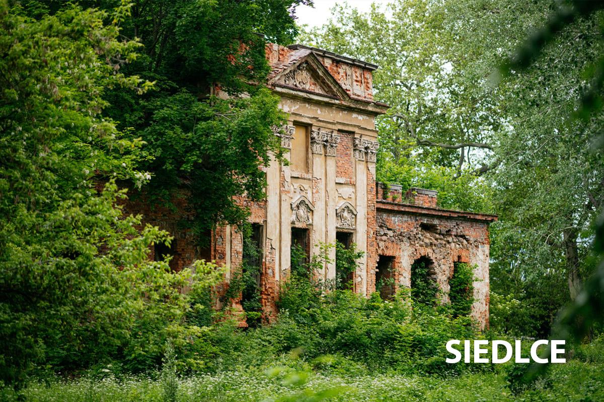 Stary pałac w Siedlcach