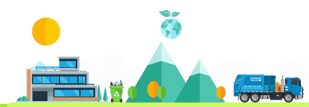 Recykling-ilustracja