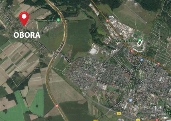 OBORA mapa