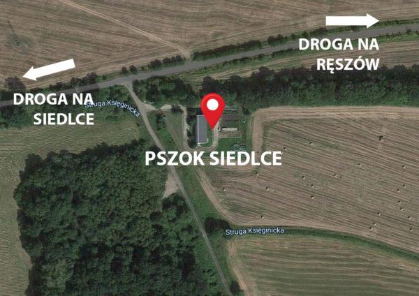 Mapa Siedlce PSZOK