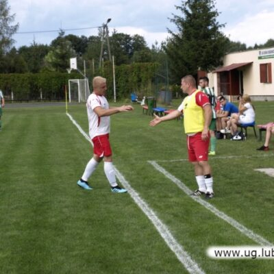 Piłkarze w akcji