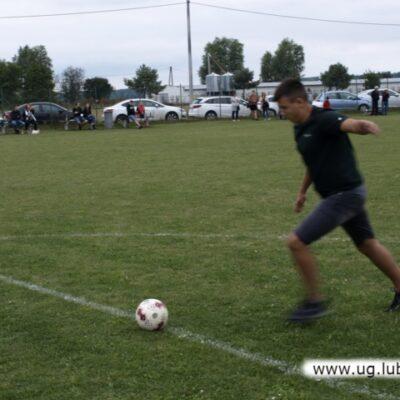 Młodzież na boisku