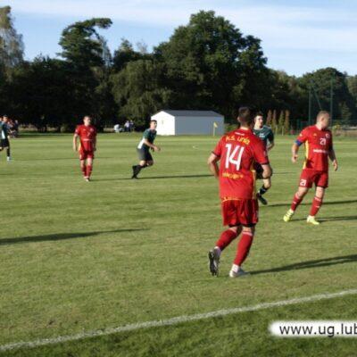 Piłkarze Unii w grze na boisku