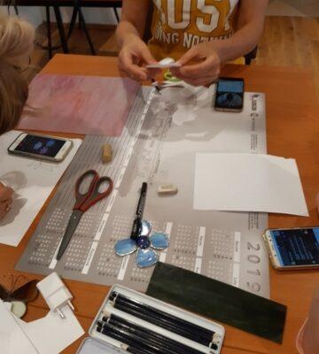 tworzenie projektów podczas warsztatów