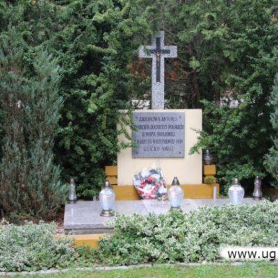 mogiła zbiorowa Żołnierzy Wojska Polskiego w Siedlcach
