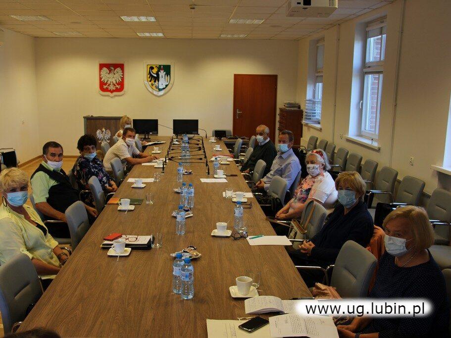 Posiedzenie Rady Seniorów Gminy Lubin.