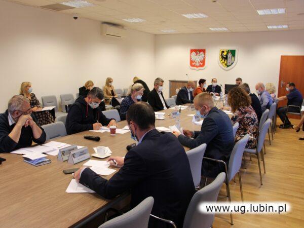 Obrady Rady Gminy Lubin