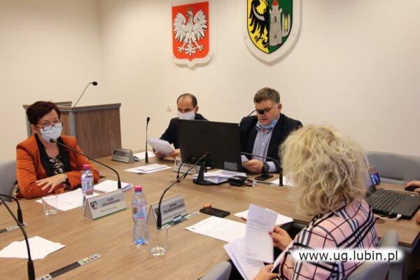 Prezydium Rady Gminy Lubin.